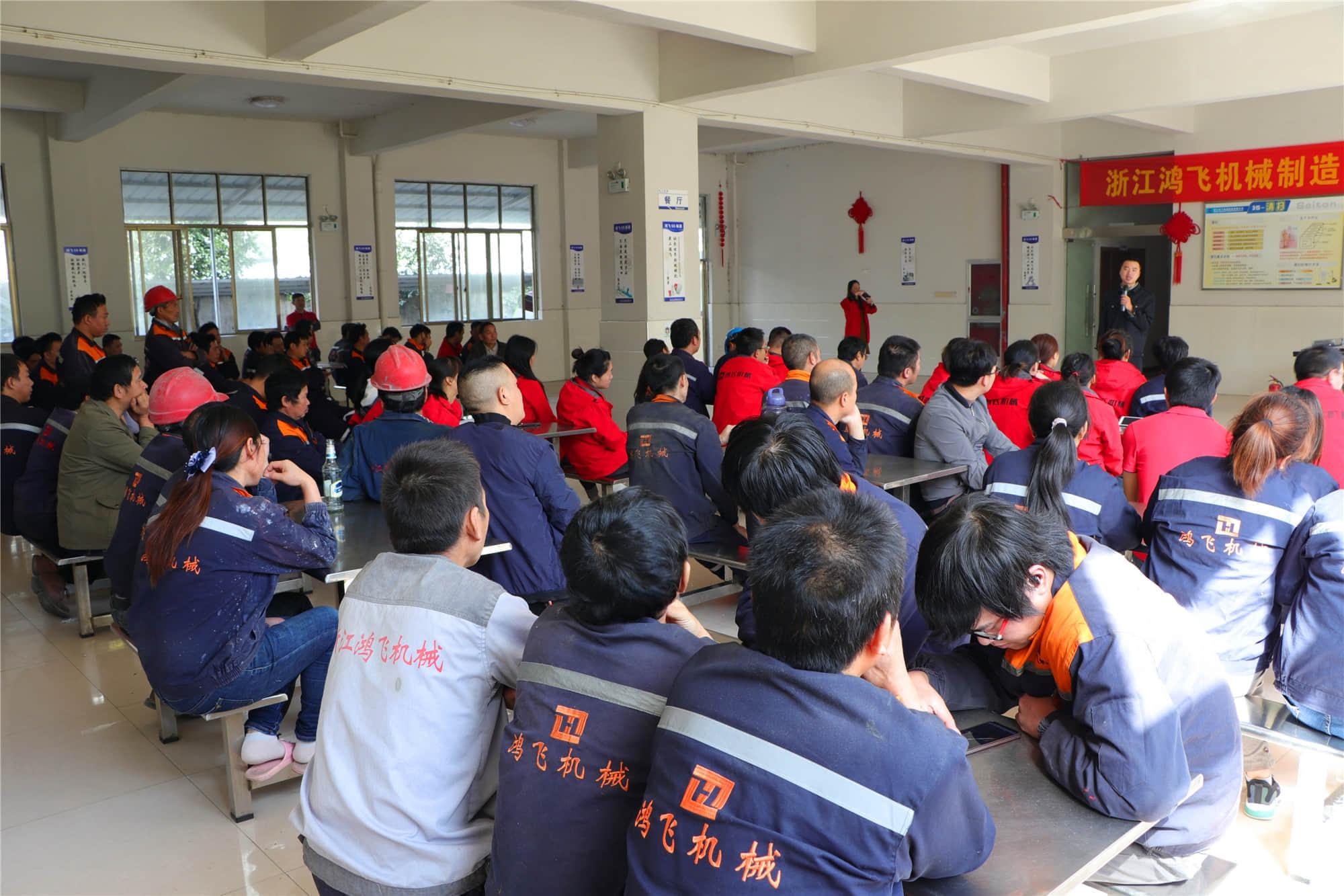 消防安全,人人有责    ——公司组织开展安全消防知识培训