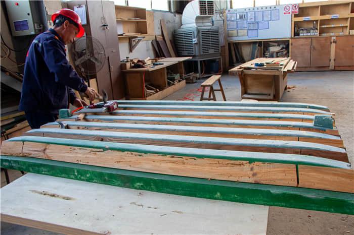 木模制作区